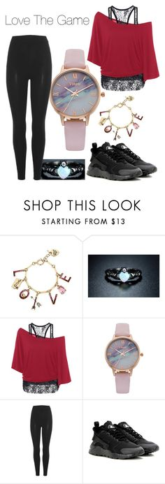 """""""*insert cool name that I cant come up with*"""" by adriana4-life on Polyvore featuring Betsey Johnson, Sevil Designs, Vivani, adidas Originals and NIKE"""