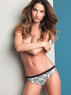 Thong Panty Flawless by Victoria's Secret  #Lily Aldridge