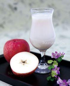 Apple Natural Juice Fresh Juice Recipes, Hurricane Glass, Natural Juice, Apple, Healthy, Tableware, Book, Apple Fruit, Dinnerware