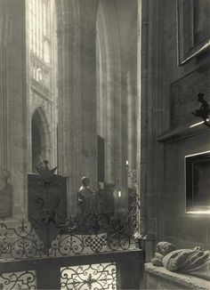 Josef Sudek - In the Cathedral, 1942