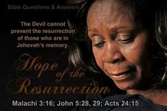The devil cannot stop Jehovah's plans for the resurrection.