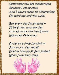 handprint poem
