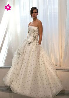Polka dots wedding dress | Polka Dots