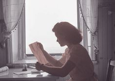 woman reading letter - Google Search