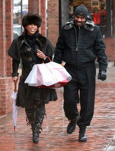 Steve Harvey Young Wife | family feud host comedian steve harvey wife marjorie harvey were ...