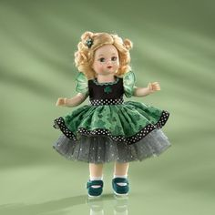 Madame Alexander Irish Eyes Are Smiling Doll by Lenox in Spring 2013 from Lenox on shop.CatalogSpree.com, my personal digital mall.