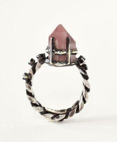 Lithium Quartz Phynix Ring by Unearthen