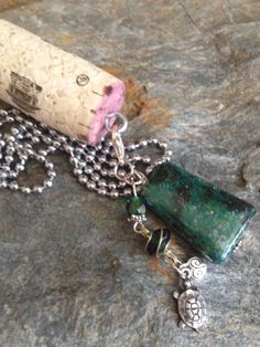 Upcycled Wine Cork Necklace  Mix and match by DesignsByDenisia, $7.99