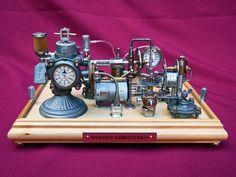 Dieselpunk Clock 4  dkart71.deviantart.com on @deviantART