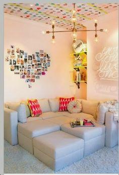 1000 images about ideas decoracion cuarto andrea isabella on pinterest rattan chairs - Manualidades para decorar habitacion ...