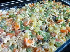 Recipes For Information Access our Site Portuguese Recipes, Portuguese Food, Carne, Pasta Salad, Love Food, Potato Salad, Healthy Lifestyle, Health Tips, Food And Drink