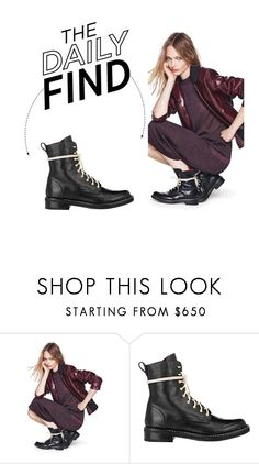 """""""The Daily Find: Rag & Bone Combat Boots"""" by polyvore-editorial ❤ liked on Polyvore featuring rag & bone and DailyFind"""