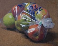 Bag of apples.  I usually buy my apples from the market already bagged up, just because it seems that you get much more for your money when they are already bagged up.  Supermarkets are different, I just look out for the deals.  Note that different types of apples will be cheaper at different times of year, see the fruit and veg season wheel I have linked to.