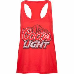 ce1864b33f580 Coors Light Tank Top Country Girl Style