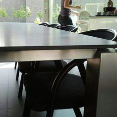 Rvs binnen tafel