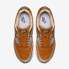 on sale 29932 5b3e6 Chaussure Nike Air Max 90 Pas Cher Homme Premium Ocre Du Desert Lin Gris  Loup Gris