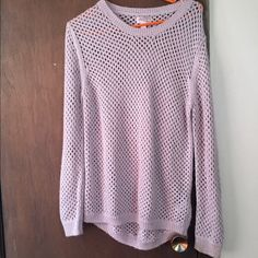 Forever 21 sweater Only worn once. Fun to wear over a cute top! Forever 21 Tops Tees - Long Sleeve