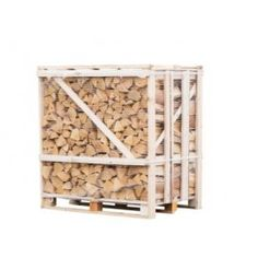1.2m  FLEXI Crate of Premium Kiln Dried Birch Firewood Logs