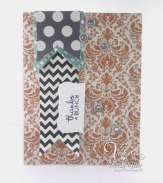 created by Teresa Kline using Verve Stamps http://paperieblooms.blogspot.com/2013/10/thanks-bunch.html
