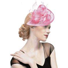 dressfan Fascia Fascinator Cappello da cocktail Piuma Semicircolare Maglia  Cappellino Copricapo Banchetto per la sposa Ornamenti 53efca525c0d