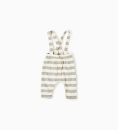 Trousers with braces-LEGGINGS & TROUSERS-MINI | 0-12 months-KIDS | ZARA United States
