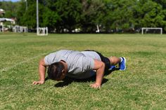 Staggered Push Up. Step One: Engage your core, keep your back straight and in a neutral position. Place one hand in from of the other in an uneven position and lower your body to the ground.