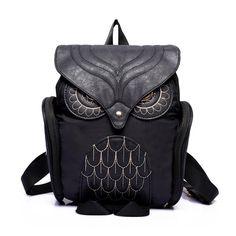 2016 New Brand Design Rucksack Women Owl Backpack Women's Leather backpack Feminina School Bag mochila feminina #YHEL #shoes, #jewelry, #women, #men, #hats