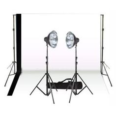 Studio Equipment, Camera Equipment, Continuous Lighting, Fill Light, Mounting Brackets, Umbrellas, Backdrops, Shots, Retail