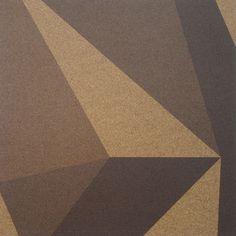 Designer Accent Cork Panel - 3D Blocks