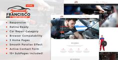 nice Francisco     Auto Mechanic & Automotive Restore Template (Enterprise)