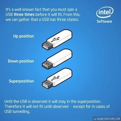So that's how USB plugs work…