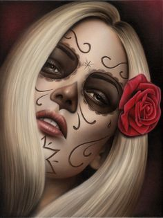 Spiders La Muerta - Canvas Giclee