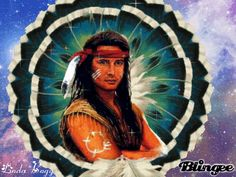 ANIMATED NATIVE AMERICANS GIFS photo: Chief Grey Eagle ChiefGreyEagle.gif