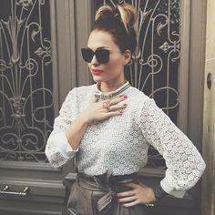 Caroline Receveur  Perfect woman Style#perfect#classe