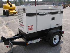 Rent-E-Quip's 25kva whisperwatt quiet generator.