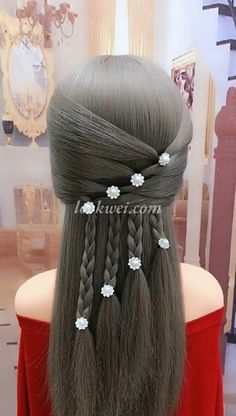 4 strands of wheat spike hairstyle #hairmakeup Braided Crown Hairstyles, Box Braids Hairstyles, Girl Hairstyles, Hairstyles Videos, Simple Hairstyles, Curly Hair Styles, Natural Hair Styles, Hair Upstyles, Long Hair Video