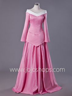 Medieval style v neck princess dress, great for formal, prom or ...