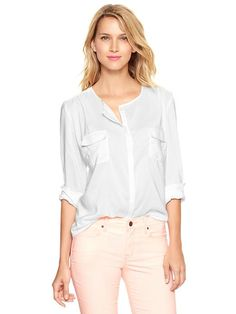 Gap | Printed double-pocket top