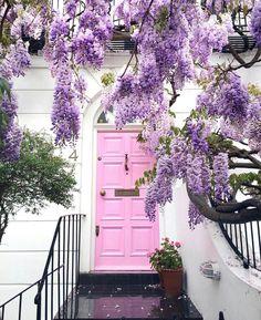 Cool Doors, Unique Doors, The Doors, Windows And Doors, Front Doors, Interior Exterior, Exterior Design, Interior Door, Exterior Paint