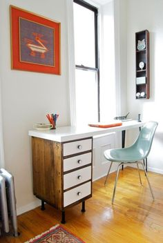 Create a Space to Work at Home in Style: Modern DIY Desk Ideas