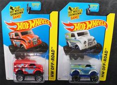 HOT WHEELS MONSTER DAIRY DELIVERY LOT OF 2 2014 RED & SILVER HW OFF-ROAD 1:64 #HotWheels  Check out boundlessbargains.com for more great deals. Thank you
