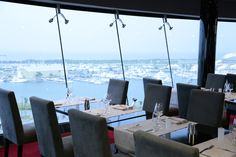 Take in the views at the Galaxy Restaurant onboard MSC Divina