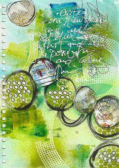 Art journal, Mixed media