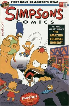 Simpsons comic number one!