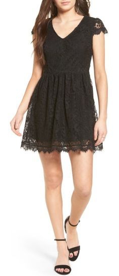 9fd9c8998b3 Speechless Lace Fit   Flare Dress
