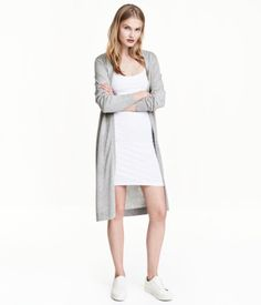 Short Jersey Dress  $12.99  Powder beige. Short, fitted dress in jersey with narrow shoulder straps.