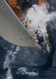 Bowman - In honor of those who work foredeck. I loved flying the chute...but never wanted the foredeck!