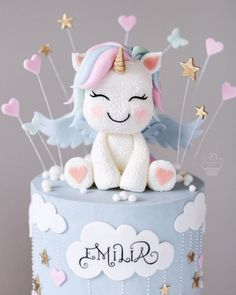 halloween cakes Make the spooky celebration scarier with these Halloween cake ideas. Get Inspiration and bake one at home to surprise your kids and guests. Baby Birthday Cakes, Unicorn Birthday Parties, Unicorn Party, Bolo Sofia, Sweets Images, Haunted House Cake, Gothic Cake, Witch Cake, Ghost Cake