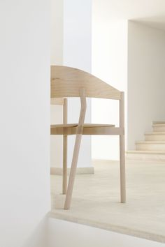 Plouf is a minimalist chair created by London-based designer Timothée Mion. The stackable set of chairs is made from maple wood, and comes in a natural and slate grey finish. There are two options available for the backrest, a rounded and a square version, all of which is handmade in Somerset. The piece was originally for a private commission for an architect's villa on the hills of Saint Maxime. The project is the result of a happy collaboration with an English woodworker from Somerset. The…