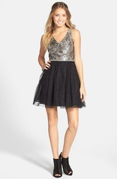 a. drea Sequin Bodice Tutu Dress (Juniors) | Nordstrom